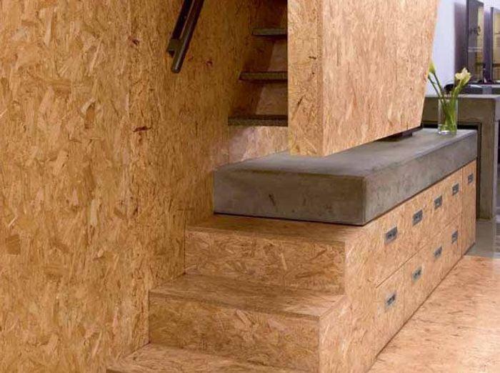 Quand le bois habille nos murs elle d coration - Habiller un mur interieur en bois ...