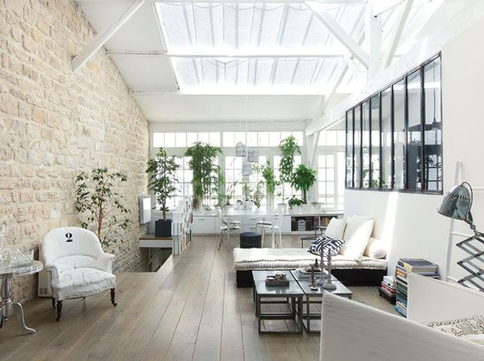 Un loft paris elle d coration - Colocation loft paris ...