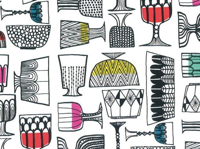 Un salon style ann es 50 c 39 est top tendance elle d coration - Papier peint annee 50 ...