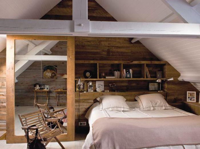 une d co tout en bois elle d coration. Black Bedroom Furniture Sets. Home Design Ideas