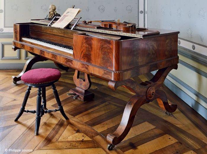 Piano chateau de syam