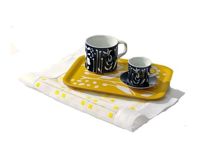 Vive la d co jaune et noire dans la maison elle d coration for Decoration maison jaune
