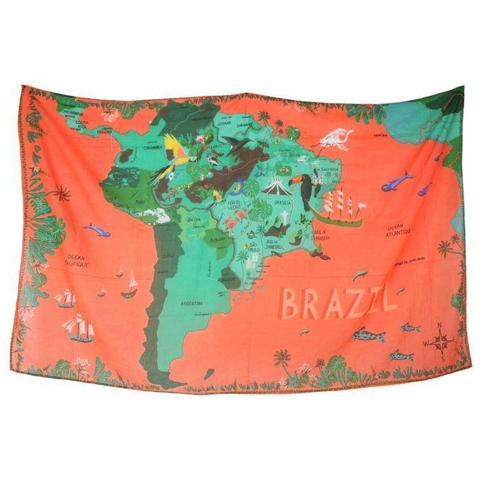Paréo brésilien