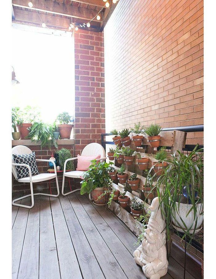 15 id es pour mettre son balcon au vert elle d coration - Tapis exterieur pour balcon ...