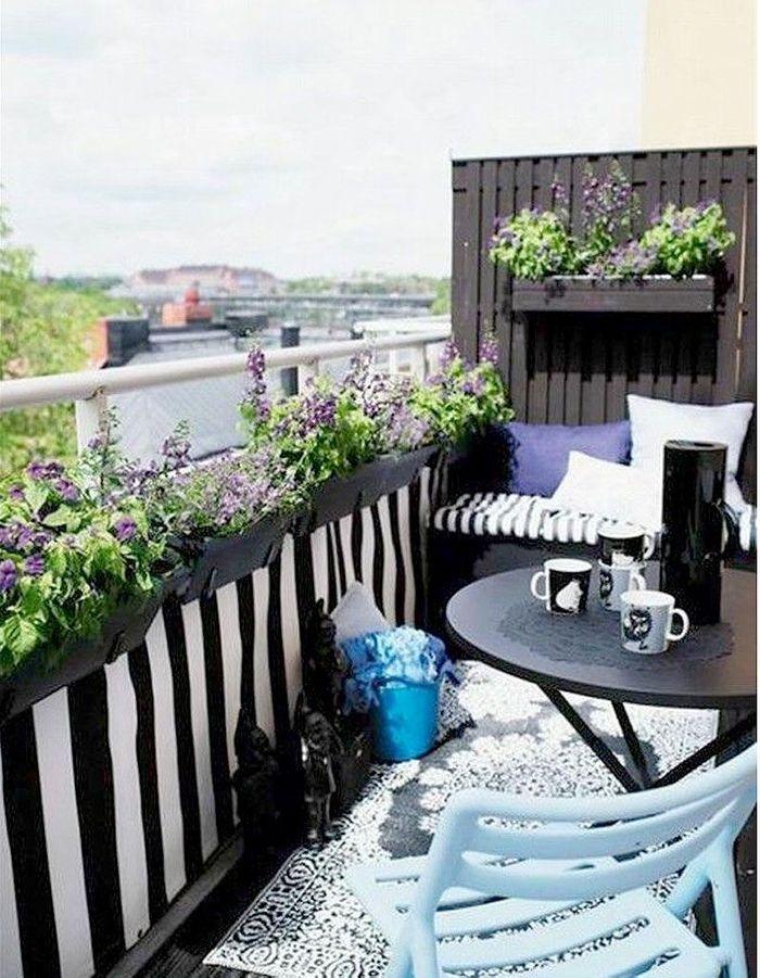 15 id es pour mettre son balcon au vert elle d coration for Plan de balcon exterieur