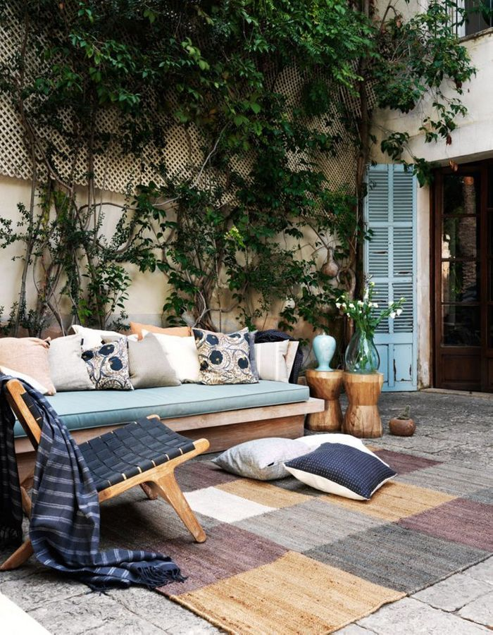 Décorez votre jardin comme n'importe quelle autre pièce de la maison