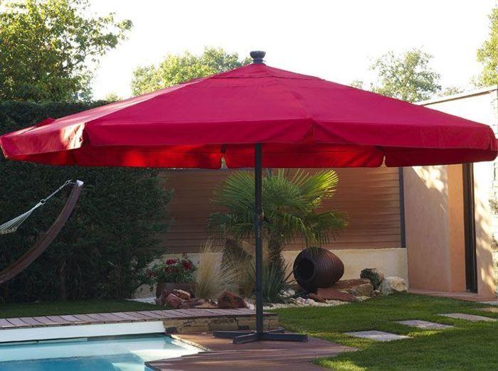 Des parasols pour l t elle d coration - Parasol de jardin rectangulaire ...