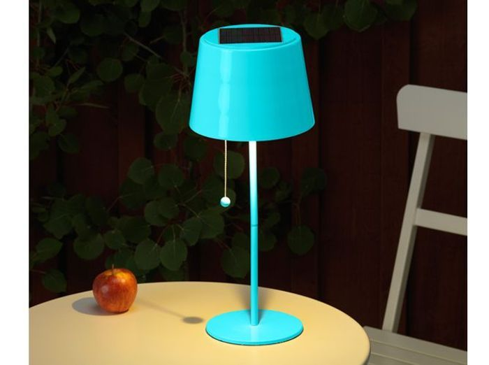 Beautiful la lampe de table solaire with lampadaire for Lampe deco exterieur