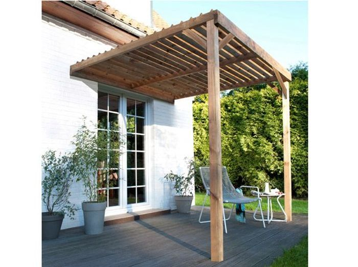 Awesome pergola fait maison pictures for Pergola fait maison