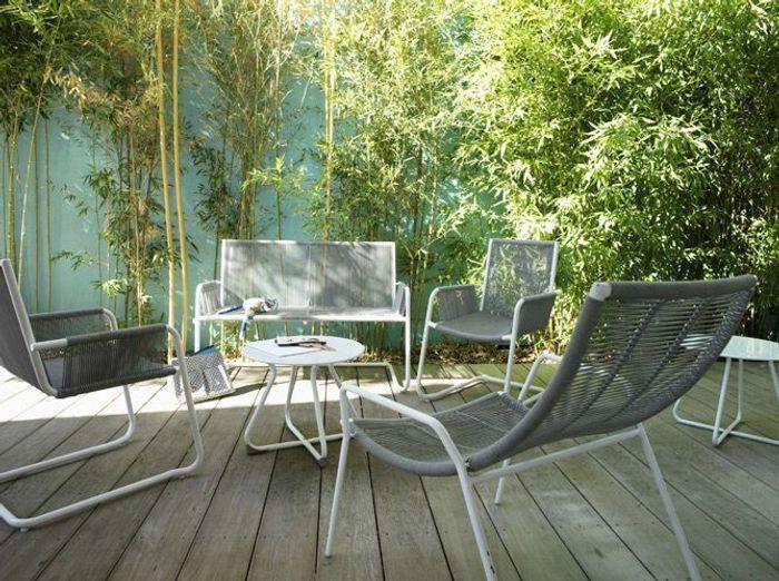 Le jardin fait salon - Elle Décoration