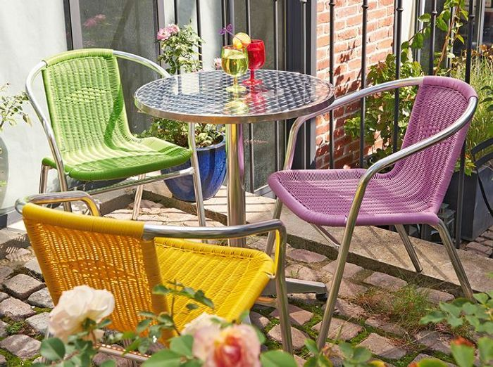 chaises colorees truffaut - Chaise Jardin Colore