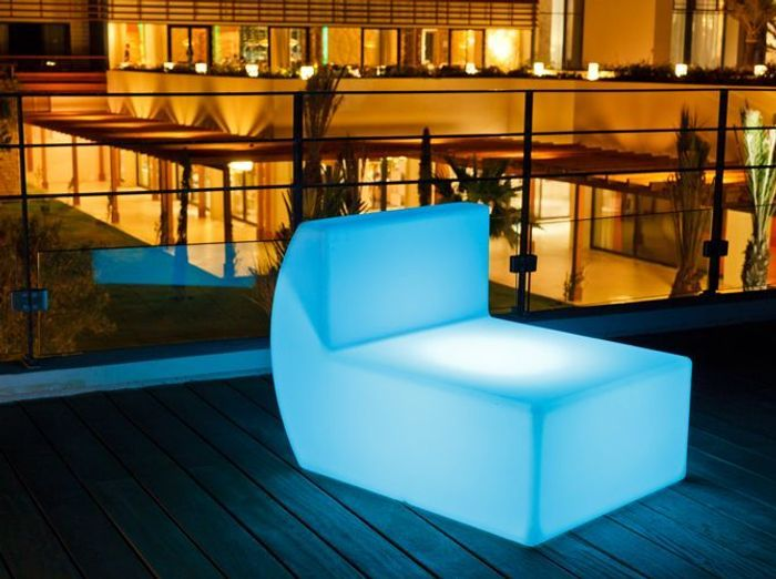 fauteuil lumineux smart and green - Chaise Jardin Colore