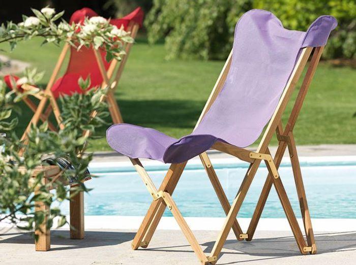 Cet été, les meubles colorés s\'invitent au jardin ! - Elle Décoration