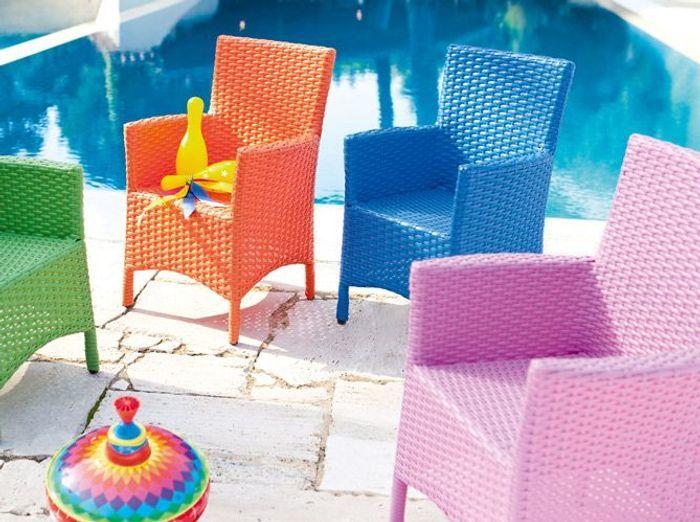 Mobilier un jardin d 39 enfant elle d coration - Hesperide mobilier de jardin ...
