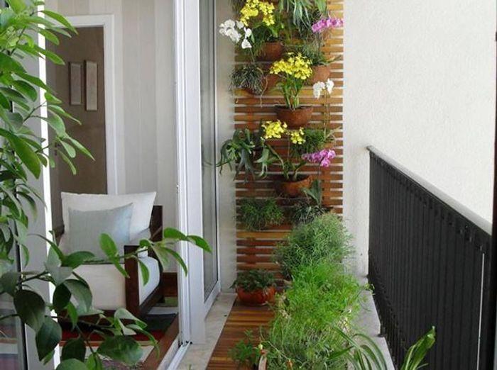 5 Idées De Jardin Pour Mini Balcon - Elle Décoration