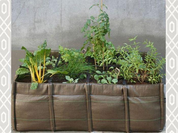 je veux un potager sur mon balcon elle d coration. Black Bedroom Furniture Sets. Home Design Ideas