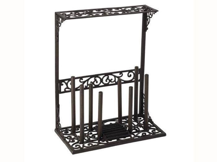 des rangements malins pour mes outils de jardinage elle. Black Bedroom Furniture Sets. Home Design Ideas