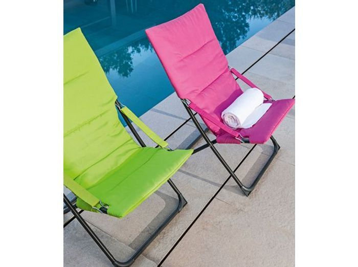fauteuils jardin colores leroy merlin - Chaise Jardin Colore