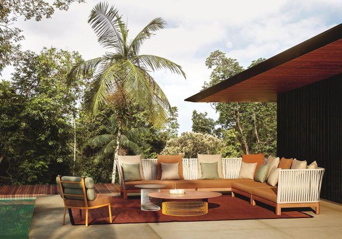 Un salon de jardin design Kettal