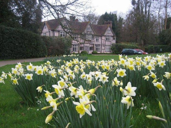 Visite d un jardin anglais dans la campagne britannique for Brocante jardin anglais