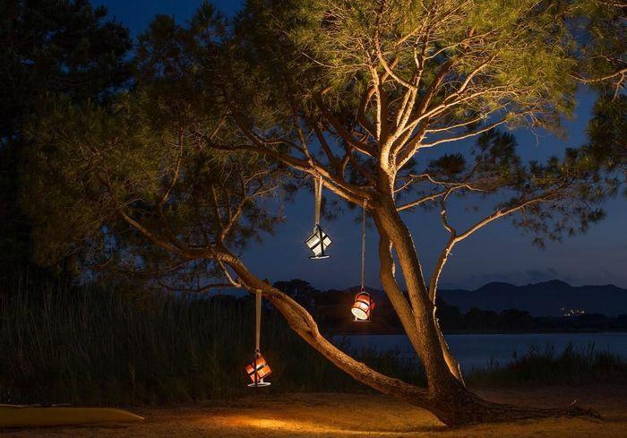 Une lampe de jardin Maiori