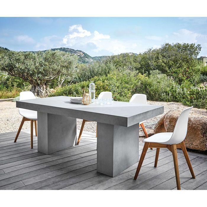 Notre s lection de mobilier de jardin pour un ext rieur qui en jette elle d coration for Carrefour table a manger