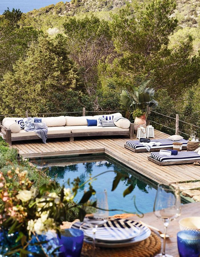 terrasse avec piscine d couvrez nos plus belles id es. Black Bedroom Furniture Sets. Home Design Ideas