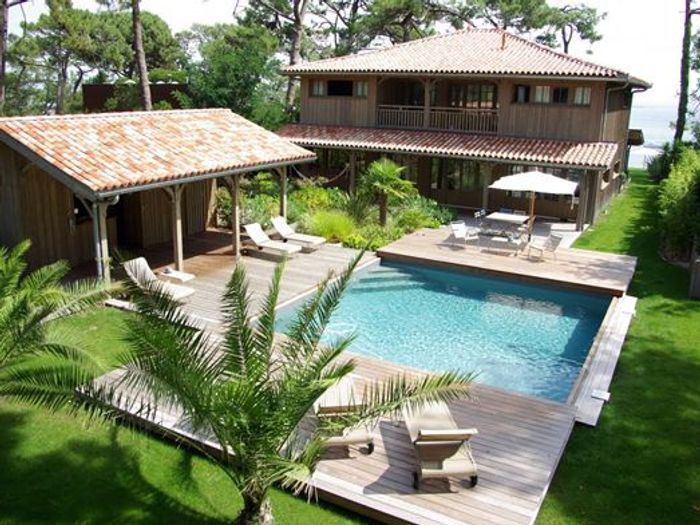 17 id es d am nagements de piscines qui font r ver elle - Piscine pool house des idees ...