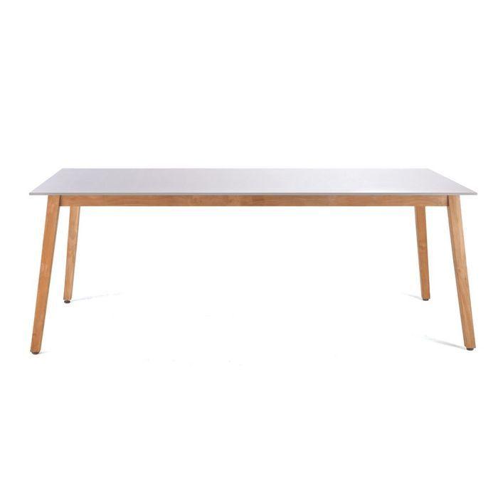 Une table de jardin pour toute ma tribu elle d coration - Grande table de jardin ...