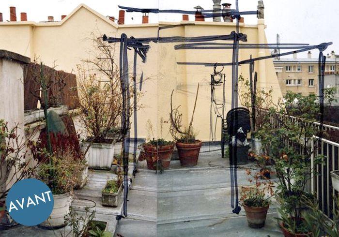 Astuces d expert pour relooker son balcon elle d coration for Avant toit terrasse