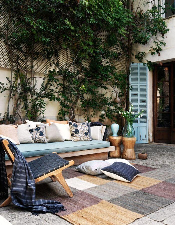 Stunning amenagement terrasse exterieure appartement for Idee deco terrasse