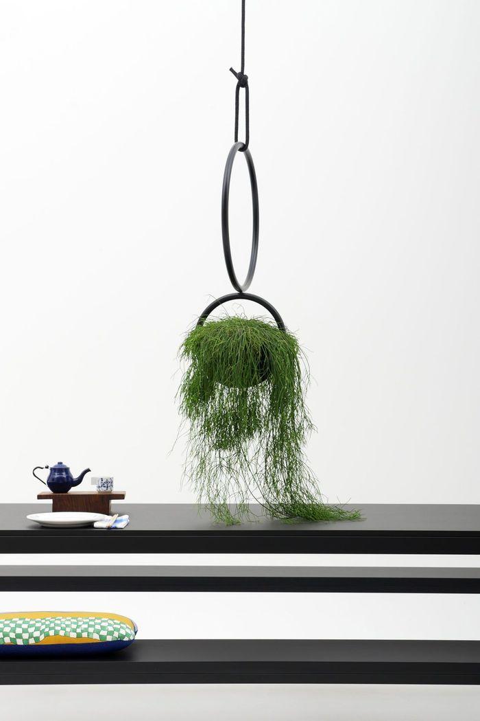 Panier Suspendu Blumenkugel par Zascho Petkow & Andreas Haussmann pour Atelier Haussmann