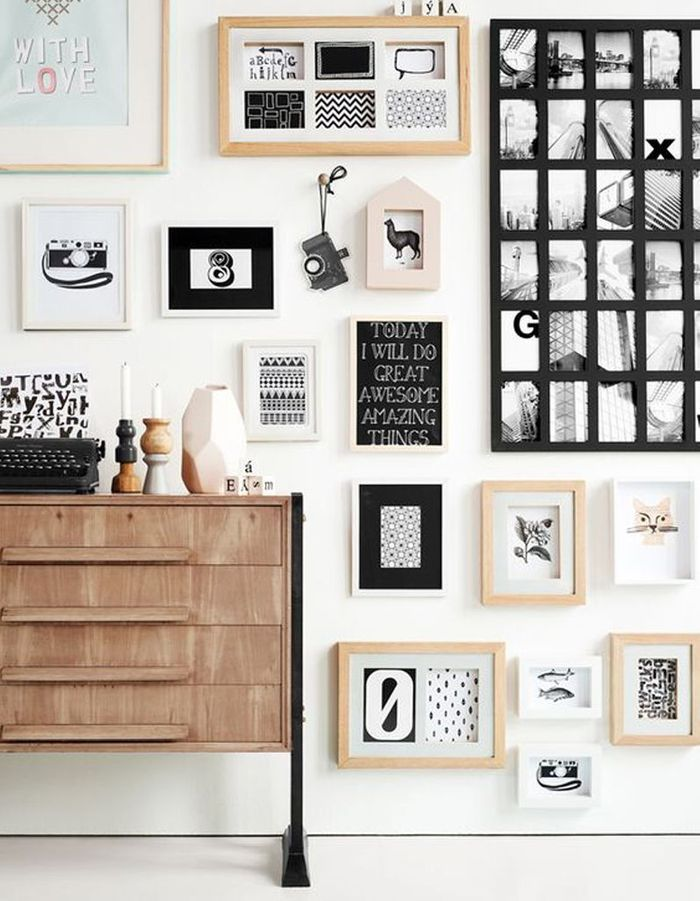 d coration murale 30 id es d co pour mettre en valeurs. Black Bedroom Furniture Sets. Home Design Ideas