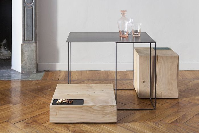 Tables Basses Brothers par UNDUO (2014)