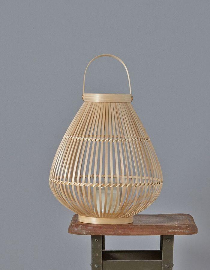Lanterne en bambou Cyrillus