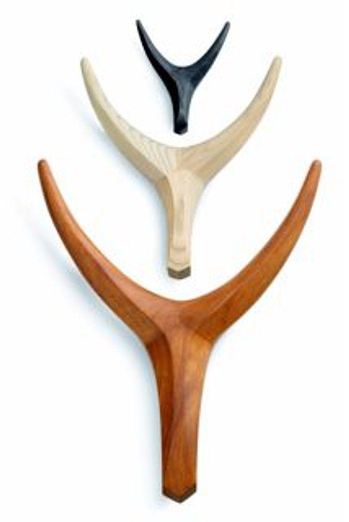 Les trophées Nguni en chutes de bois de Vogel