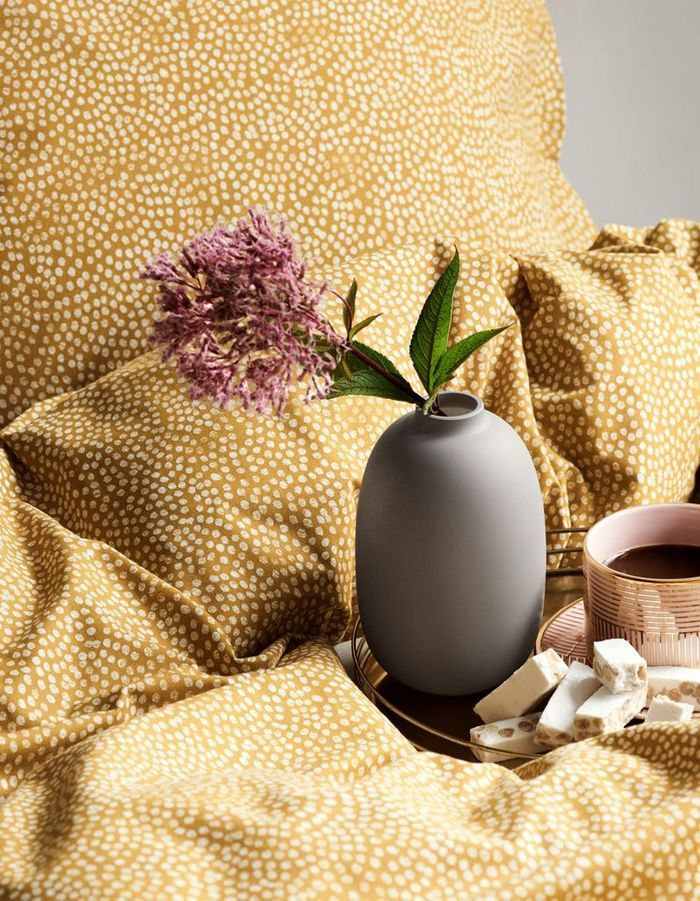 Vase gris H&M Home