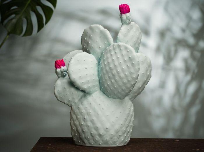 Une lampe cactus