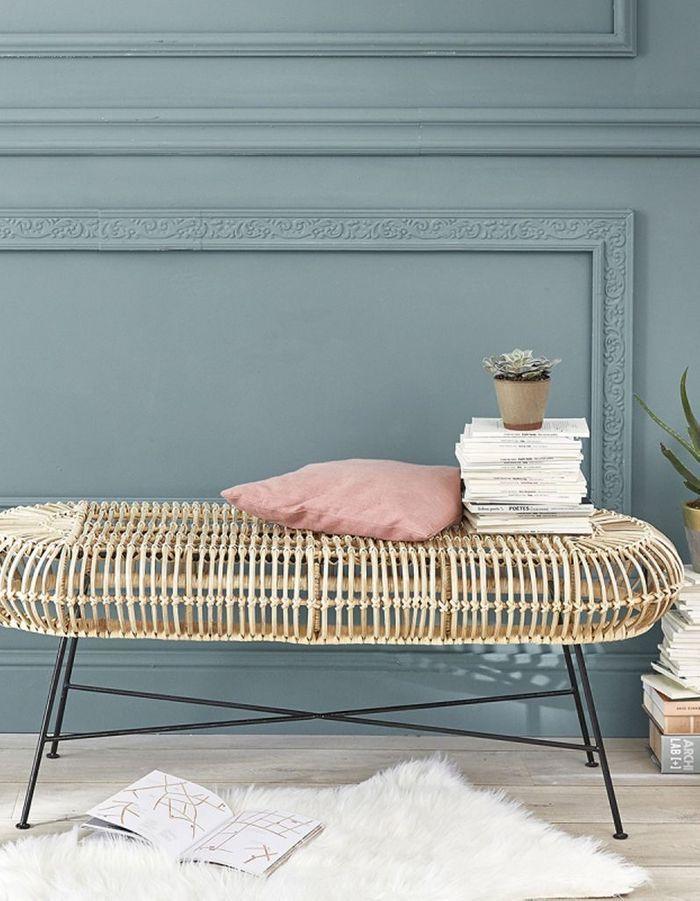 tendance d co le rotin un mat riau franchement hype elle d coration. Black Bedroom Furniture Sets. Home Design Ideas