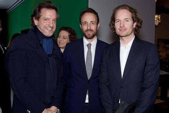 Jean-Laurent Thierry (Maison Pierre Frey), Edouard Renevier (Maison Sarah Lavoine) et Vincent Frey (Maison Pierre Frey)