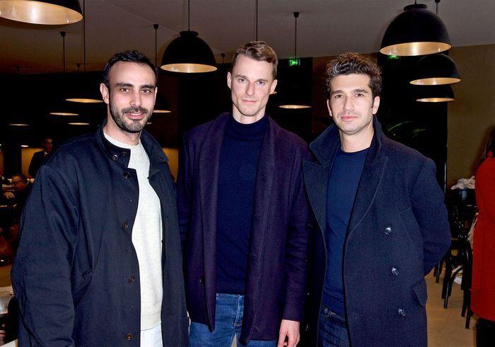 Fabrizio Casiraghi (architecte d'intérieur),Bernard Dubois (architecte d'intérieur), Julien Desselle (Desselle & Partners)