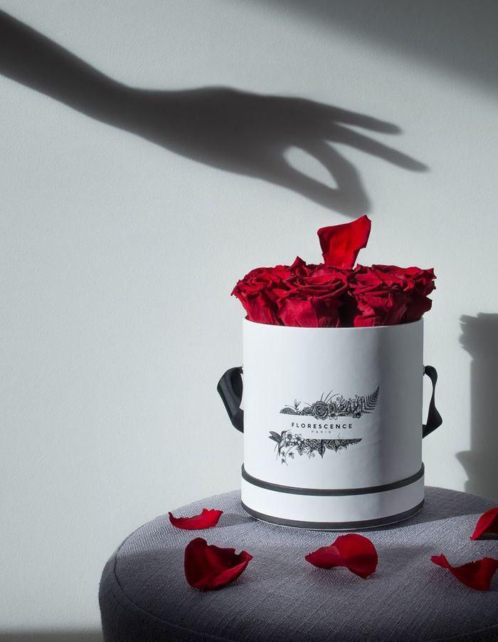 Un bouquet de roses éternelles