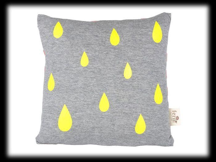 Coussin Raindrops Fleux