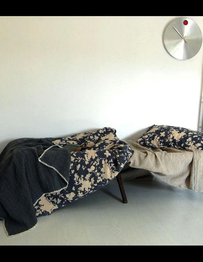 50 textiles d t pour gayer son int rieur elle d coration. Black Bedroom Furniture Sets. Home Design Ideas