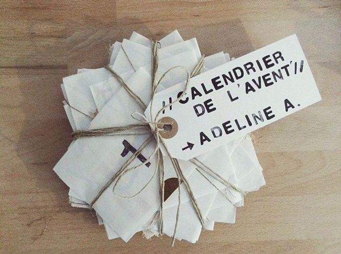 Calendrier De Lavent Petits Papiers