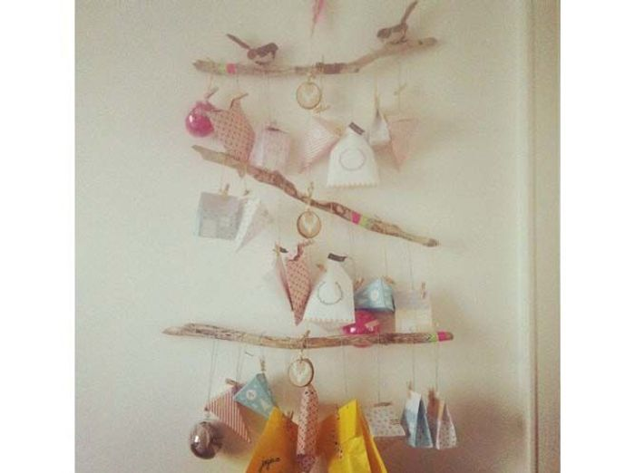 Calendrier De Lavent Branches Oiseaux