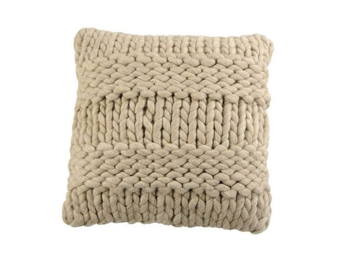 Coussin tricot jardin ulyss