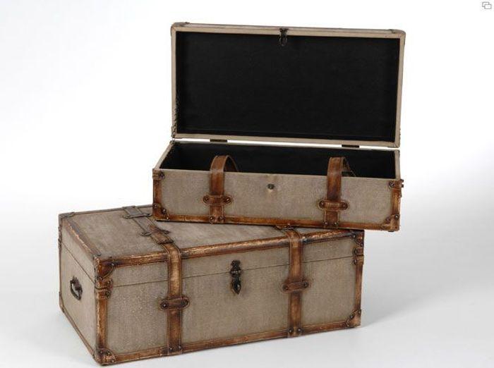 malle de rangement en fer finest meuble duappoint bas vieux bois indien cm with malle de. Black Bedroom Furniture Sets. Home Design Ideas