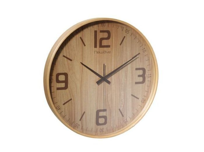 Horloge bois ampm