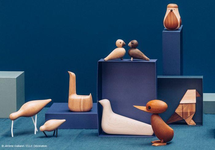 La nouvelle folie des designers les objets en bois for Objet deco en bois